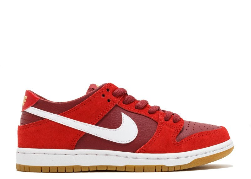 "Nike SB Dunk Low ""Track Red"""