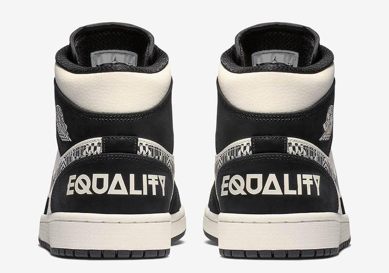 "Air Jordan 1 Mid ""Equality"""