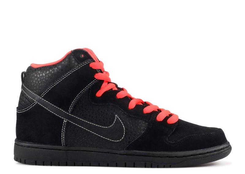 """Nike SB Dunk High """"Black/Atomic Red"""""""