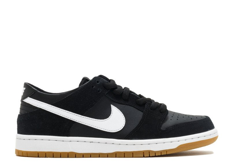 "Nike SB Dunk Low ""Black/Gum"""