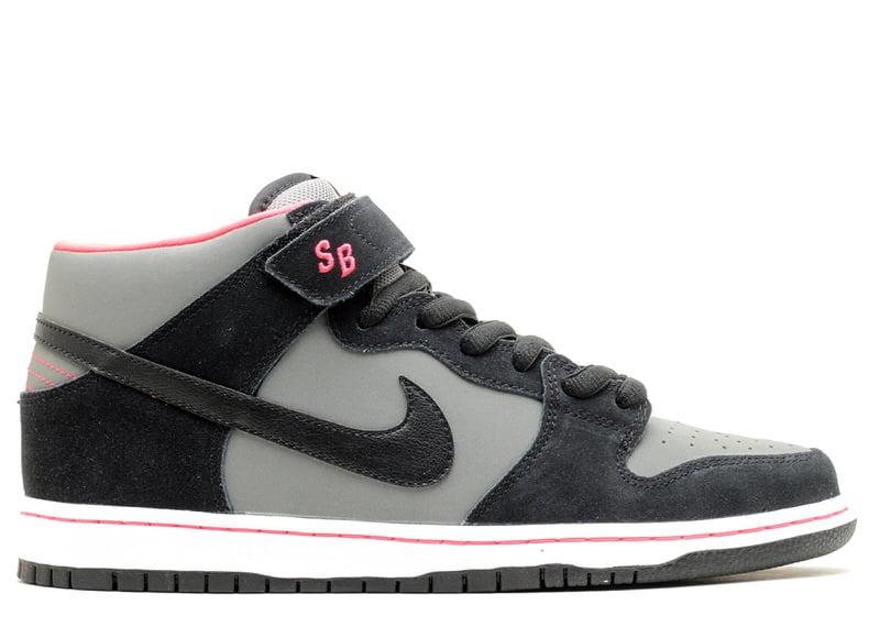 "Nike SB Dunk Mid ""Base Grey/Laser Orange"""