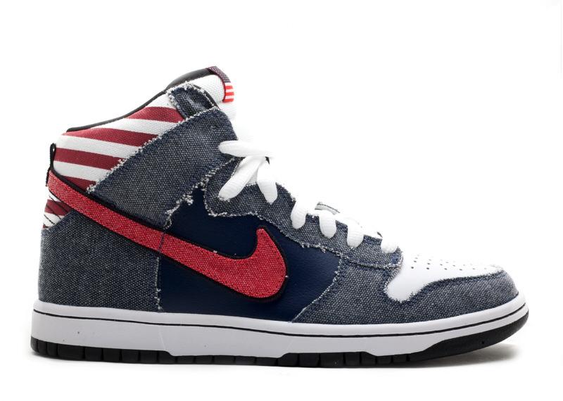 "Nike SB Dunk High ""Born in the USA"""