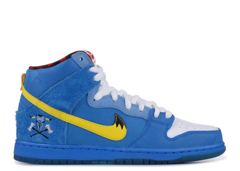 "Familia Skate Shop x Nike SB Dunk High ""Blue Ox"""