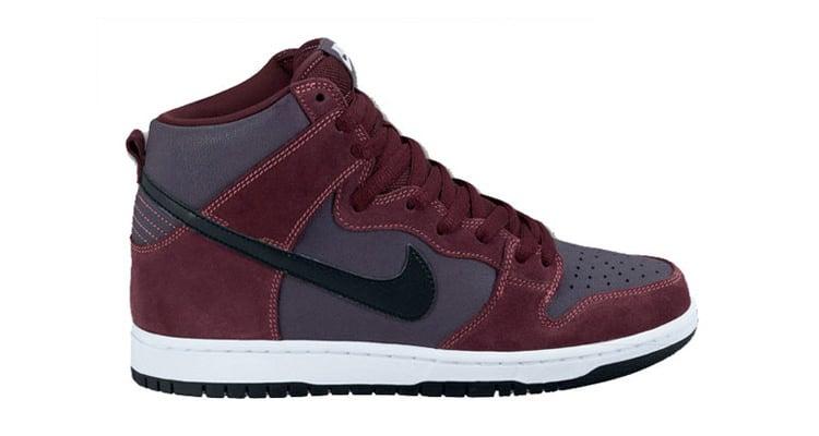 "Nike SB Dunk High ""Deep Burgundy"""