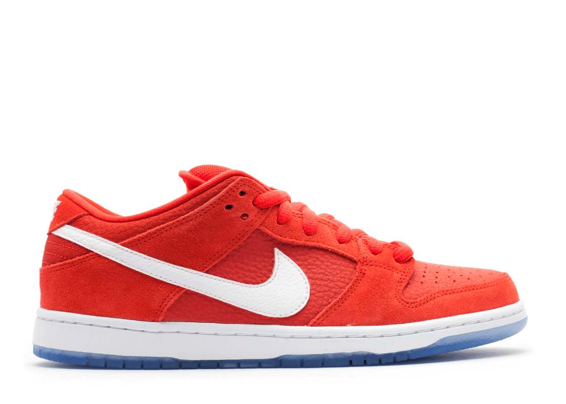"Nike SB Dunk Low ""Challenge Red"""