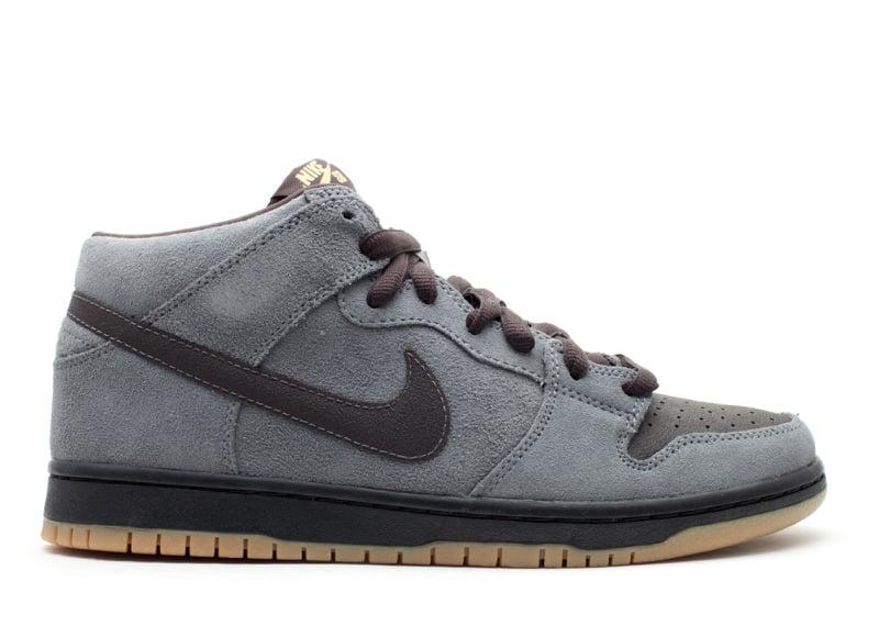 "Nike SB Dunk Mid ""Charcoal/Tar"""