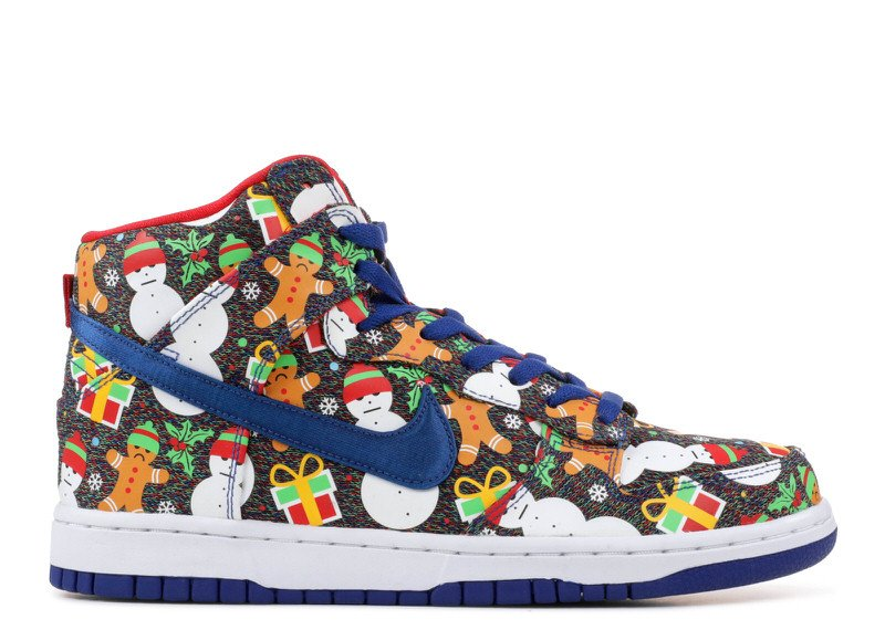"CNCPTS x Nike SB Dunk High ""Ugly Sweater"""