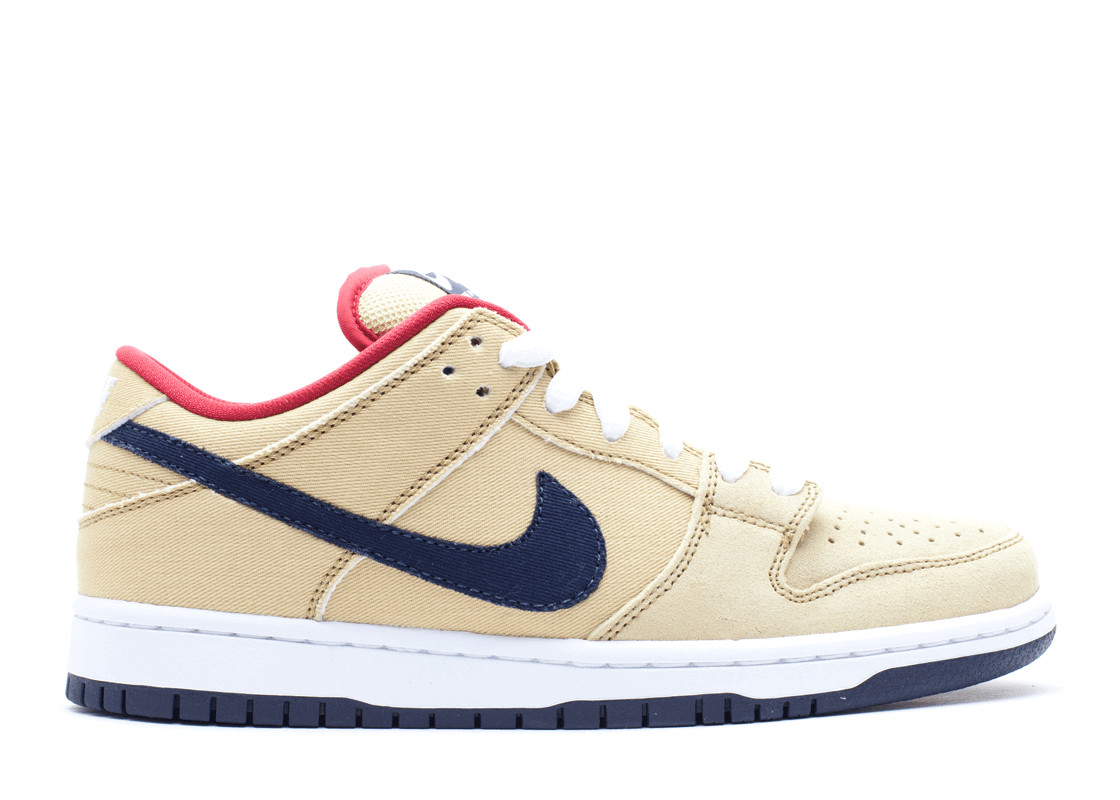 "Nike SB Dunk Low ""Gold Dust"""