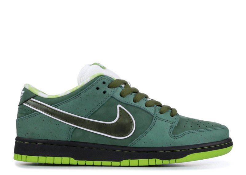 "CNCPTS x Nike SB Dunk Low ""Green Lobster"""