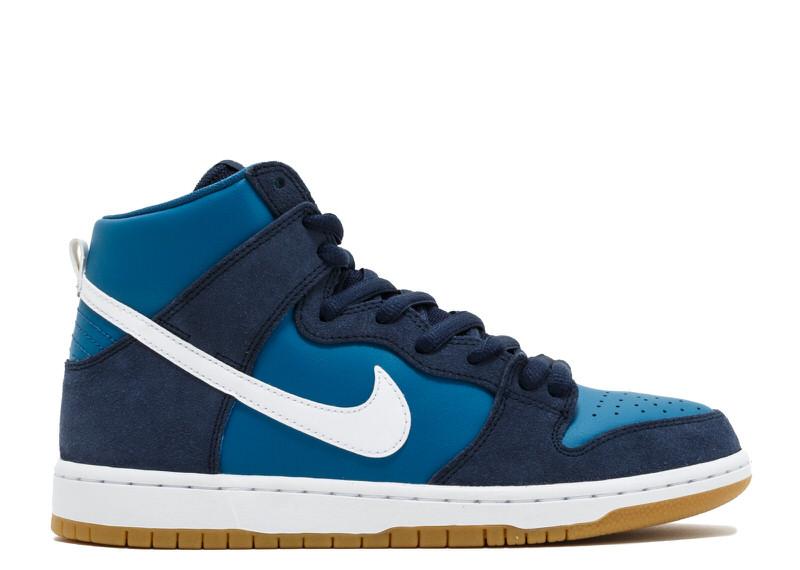 "Nike SB Dunk High ""Industrial Blue"""