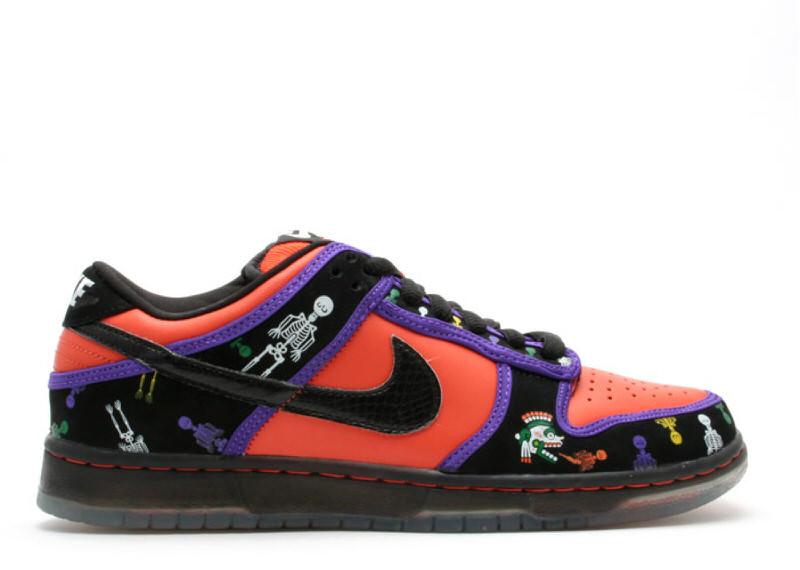 "Nike SB Dunk Low ""Dios de la Muerte"""