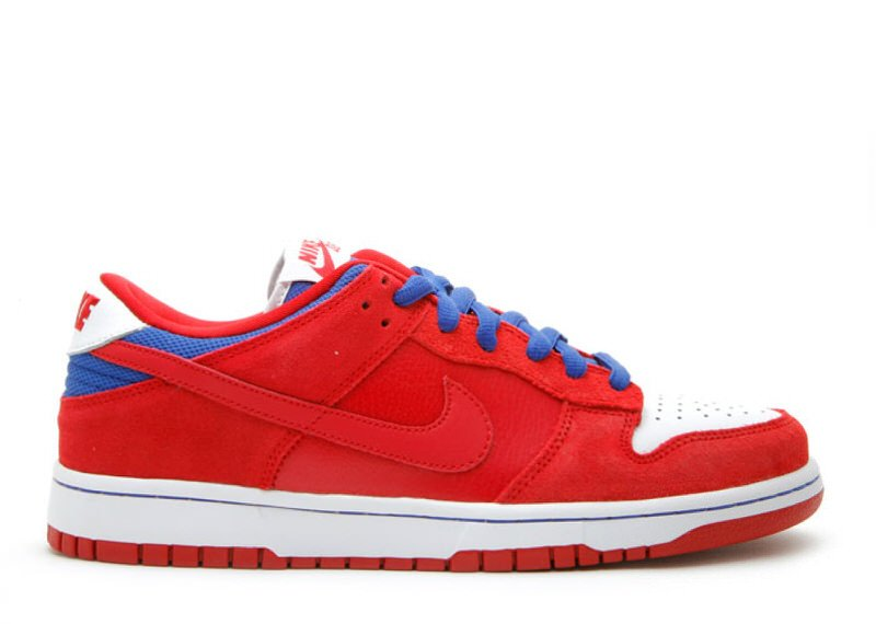"""Nike SB Dunk Low """"Red/Royal"""""""