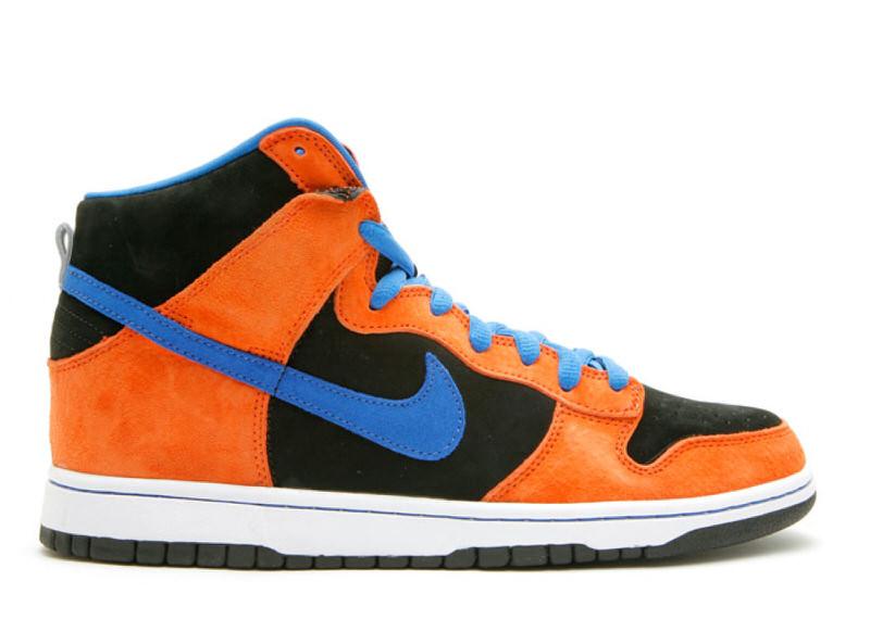 "Nike SB Dunk High ""Orange/Blue Sapphire"""