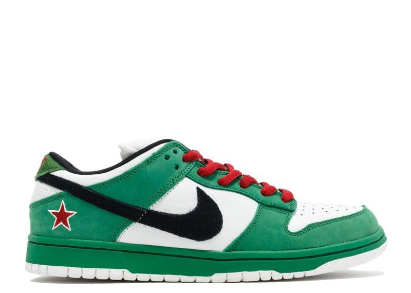 "Nike SB Dunk Low ""Heineken"""