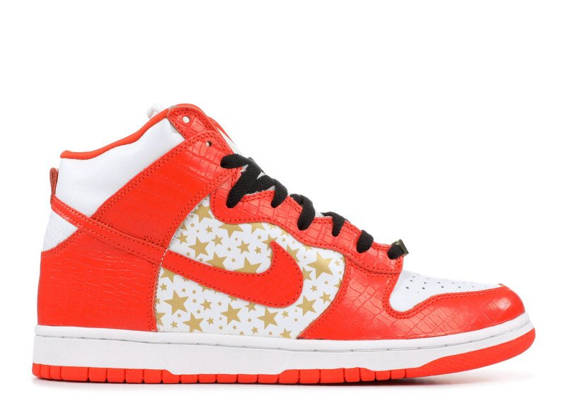 "Supreme x Nike SB Dunk High ""College Orange"""