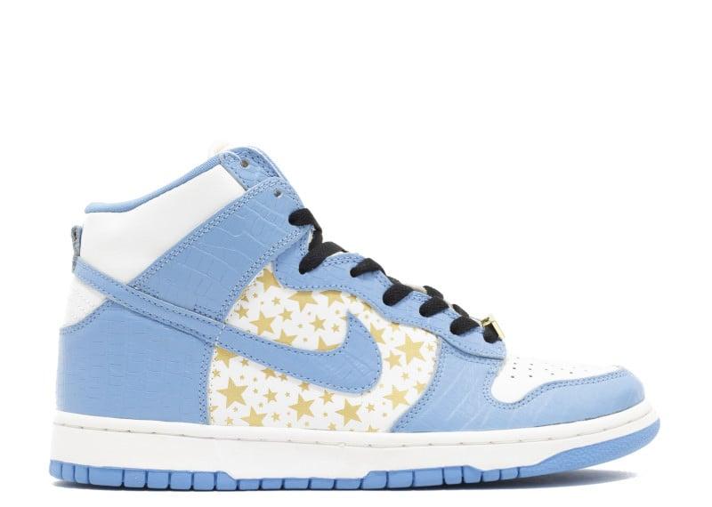 "Supreme x Nike SB Dunk High ""University Blue"""