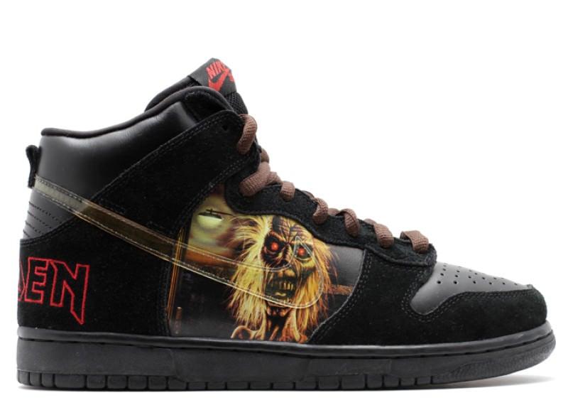 "Nike SB Dunk High ""Iron Maiden"""