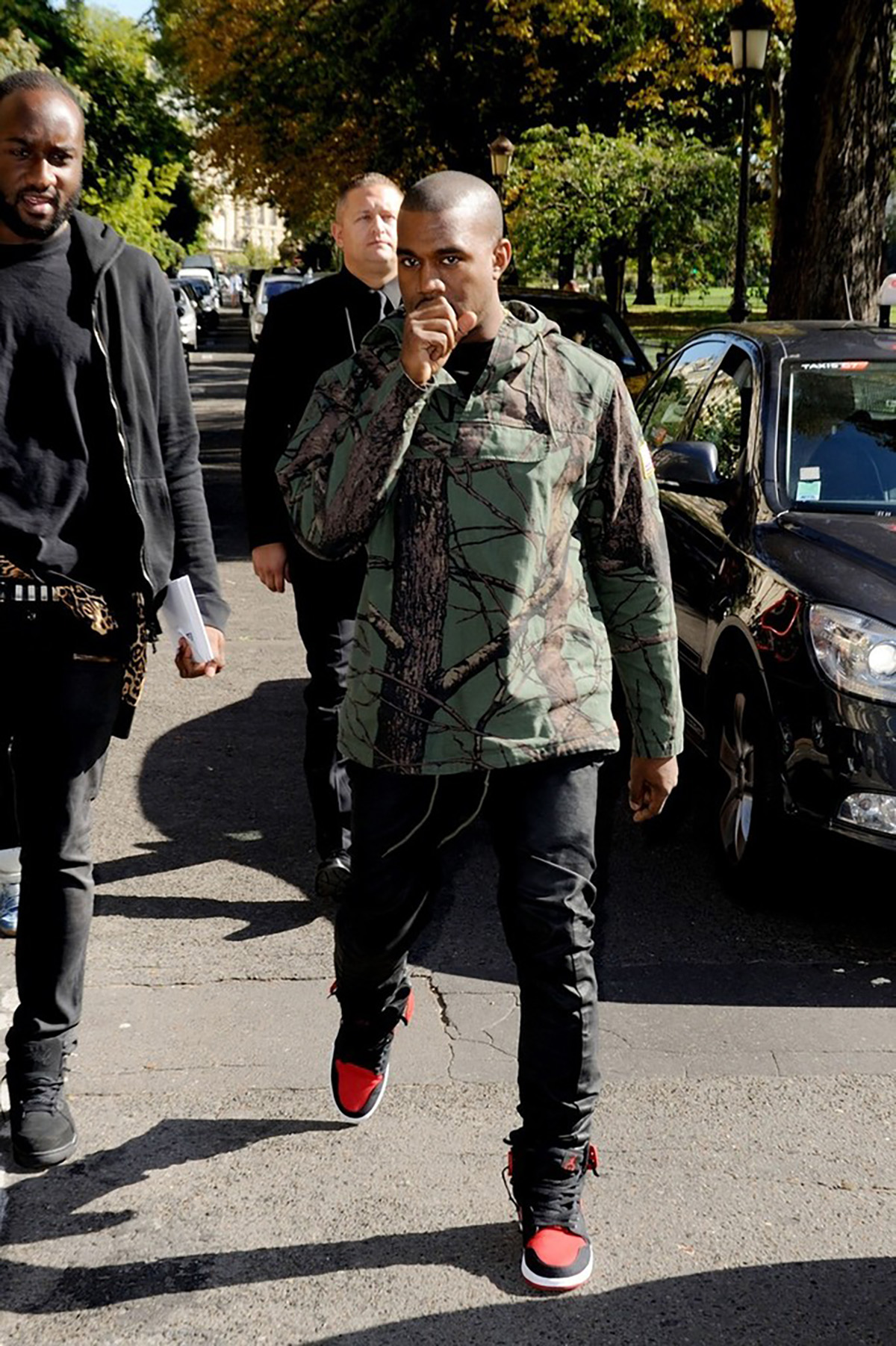 The Time Kanye Wore Jordan 1s to