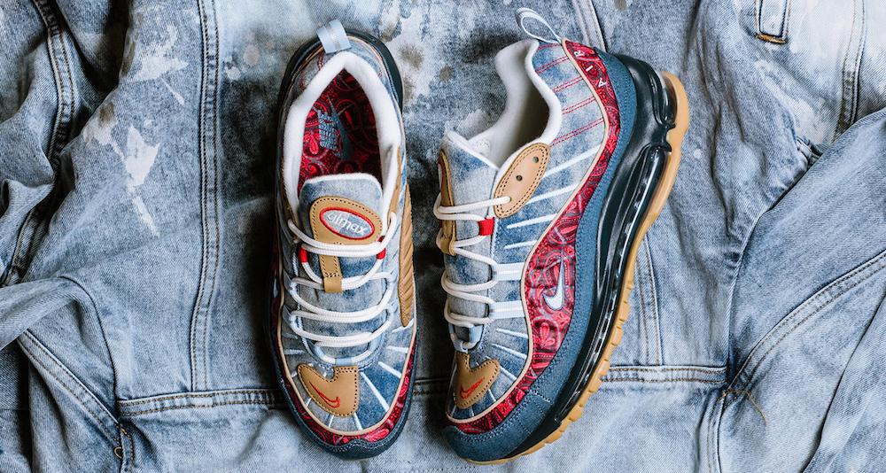 """Nike Air Max 98 """"Denim"""""""