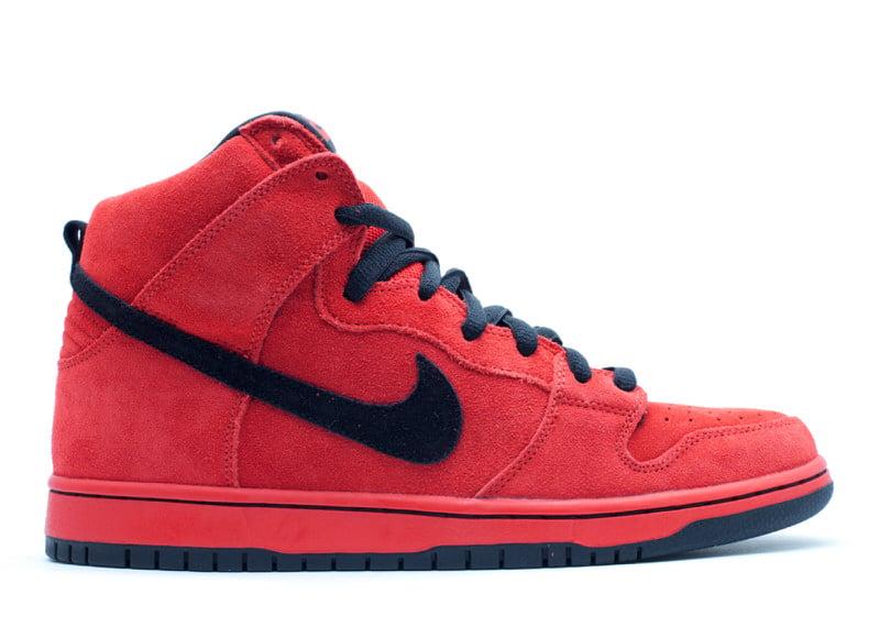 "Nike SB Dunk High ""Sport Red"""