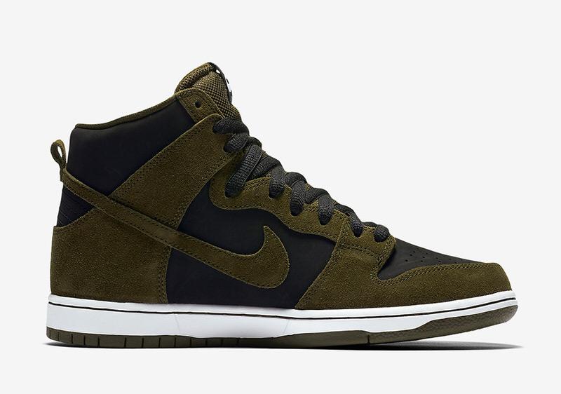 """Nike SB Dunk High """"Olive"""""""