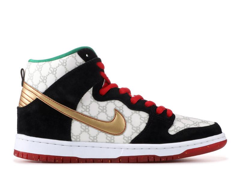 "Black Sheep Skate Shop x Nike SB Dunk High ""Paid in Full"""