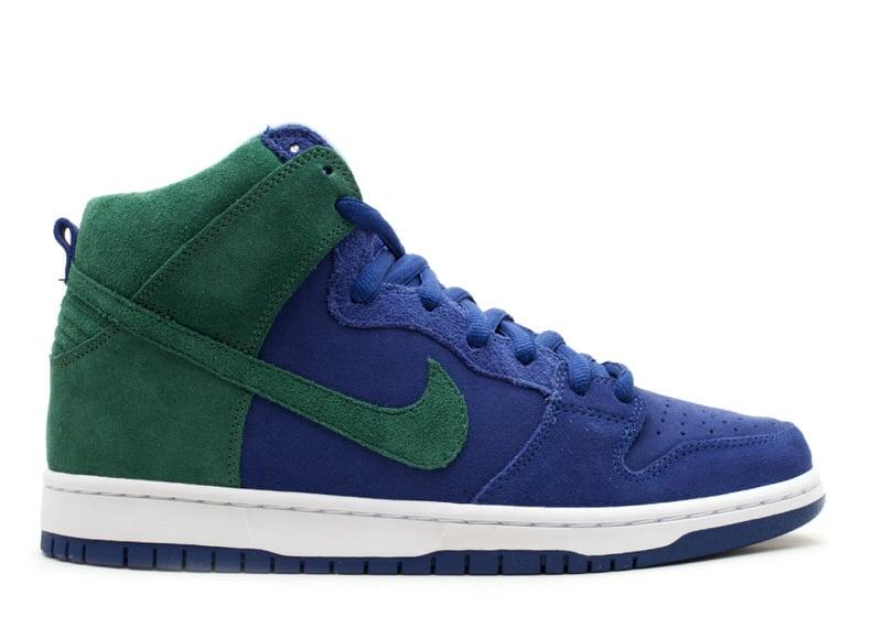 "Nike SB Dunk High ""Deep Royal/Noble Green"""