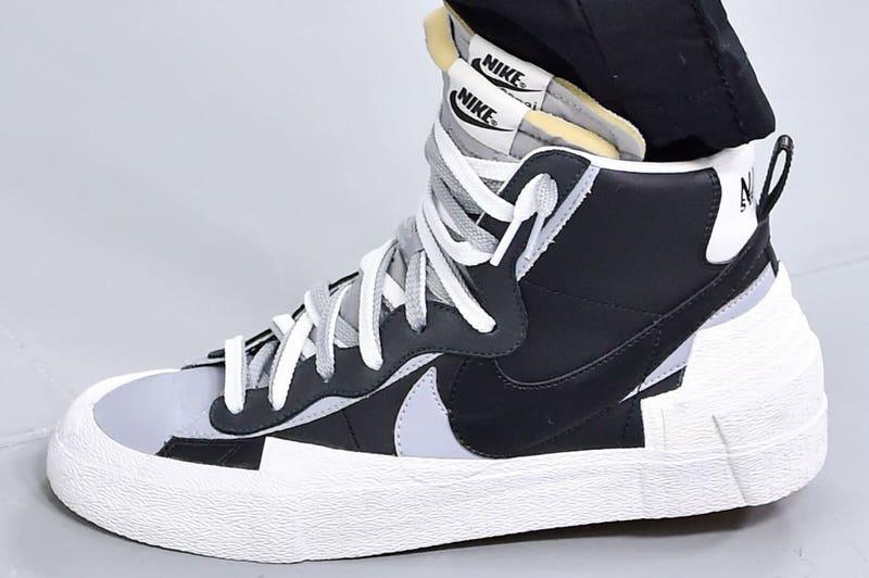 sacai x Nike Blazer Mid Wolf Grey Release Date | Nice Kicks