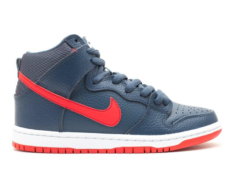 "Nike SB Dunk High ""Squadron Blue"""