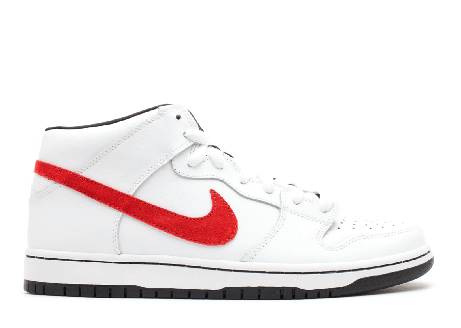 "Nike SB Dunk Mid ""White/Sport Red"""