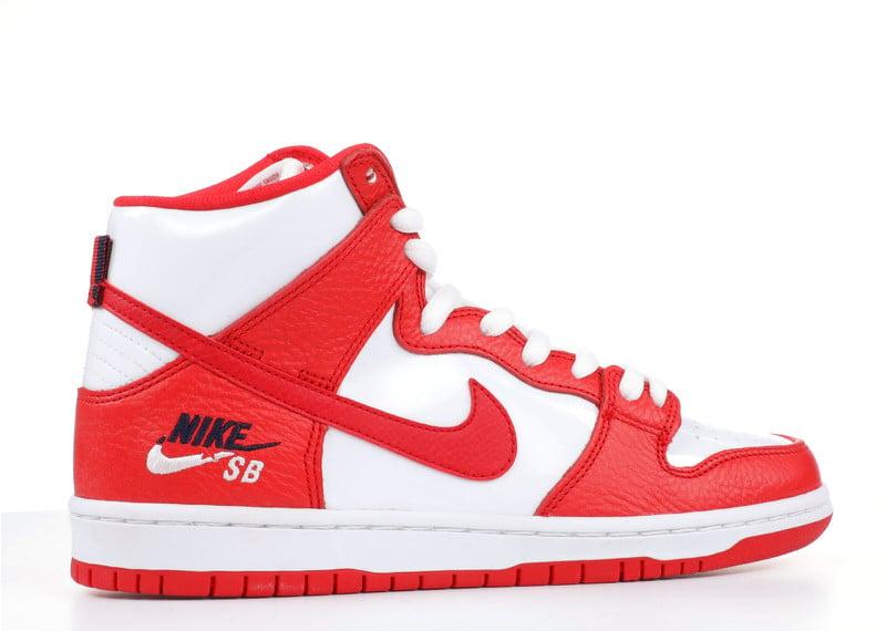 "Nike SB Dunk High ""University Red"""