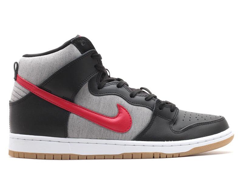 """Nike SB Dunk High """"Black/Medium Grey"""""""