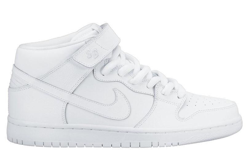 "Nike SB Dunk Mid ""White"""