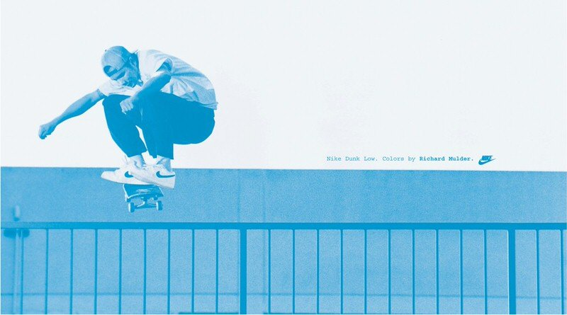 """Nike SB Dunk Low """"Mulder"""" Ad"""
