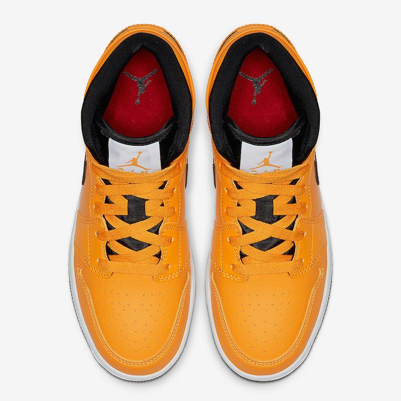 "Air Jordan 1 Mid ""Taxi Yellow"""