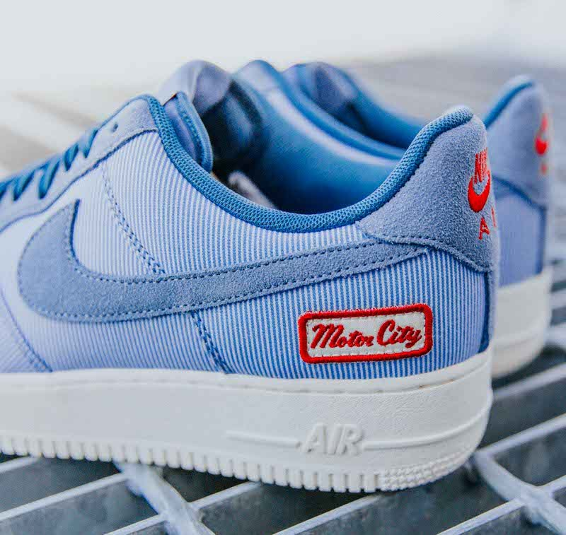 A Detailed Look At The Foot Locker Detroit Exclusive Nike Air Force 1 Home Nice Kicks