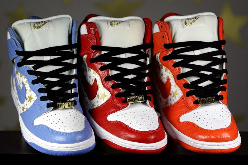 Supreme x Nike SB Dunk High Collection