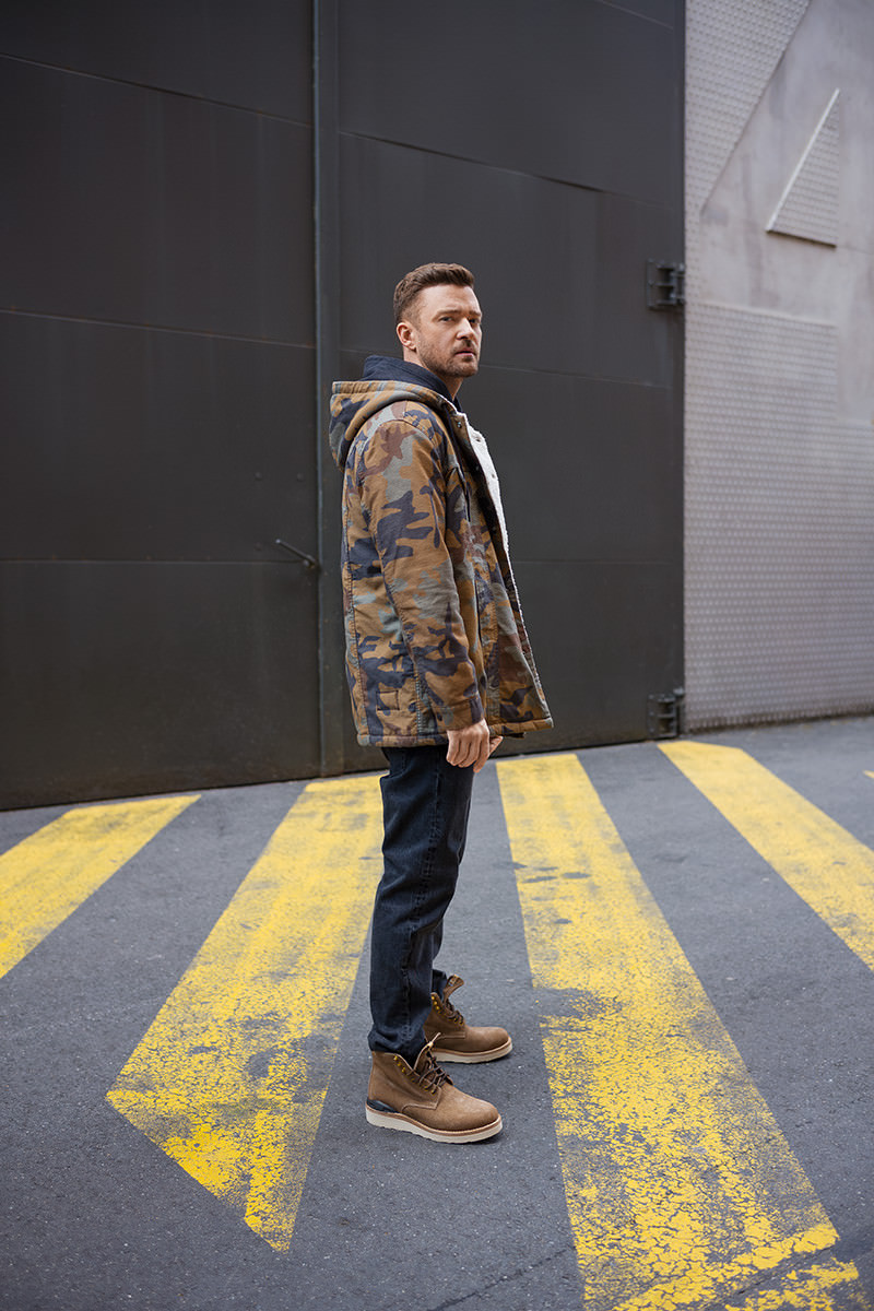 Layered with Levi's, while wearing the visvim Virgil Boots-Folk.