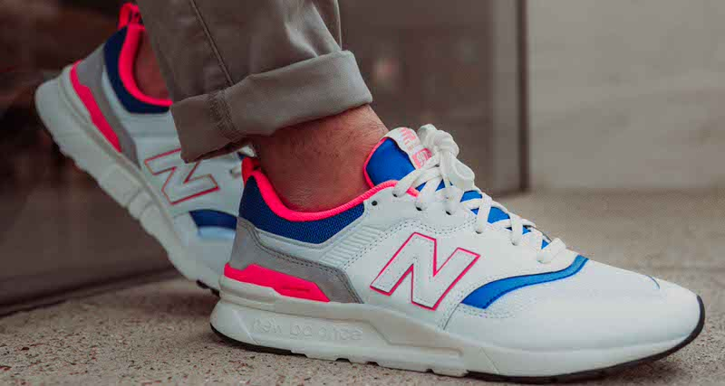 Foot Look at the New Balance 997 Hybrid