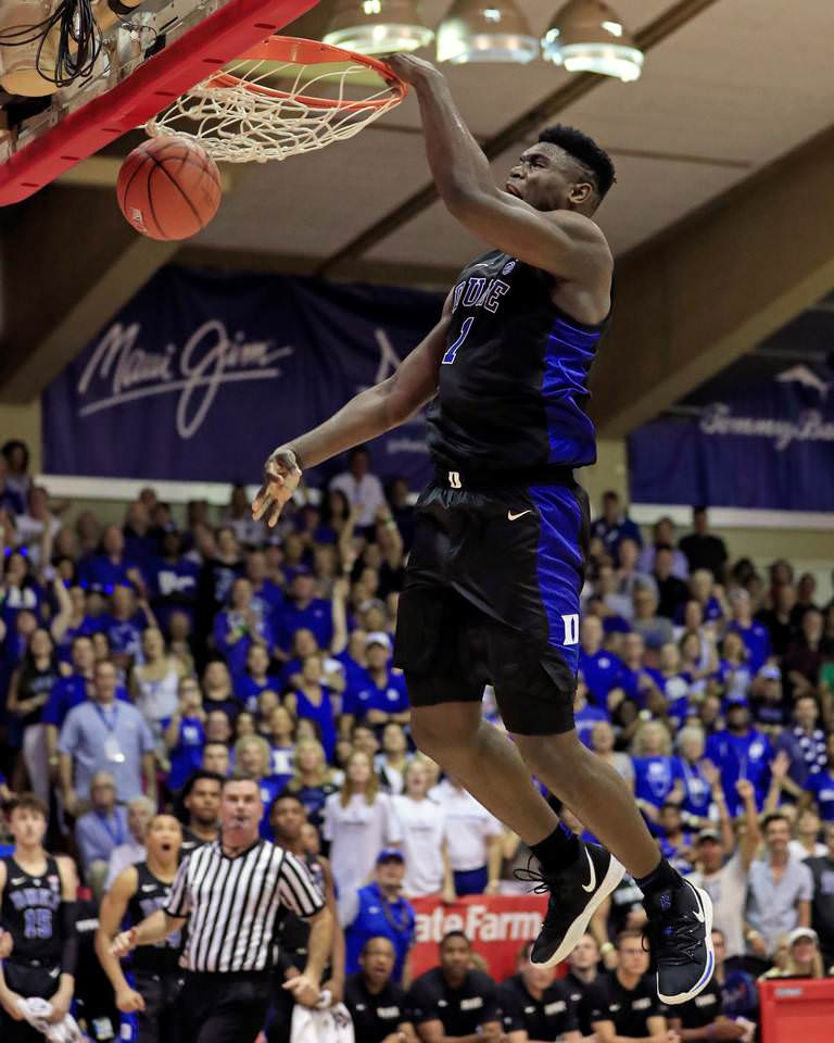 Every Sneaker Worn by Zion Williamson