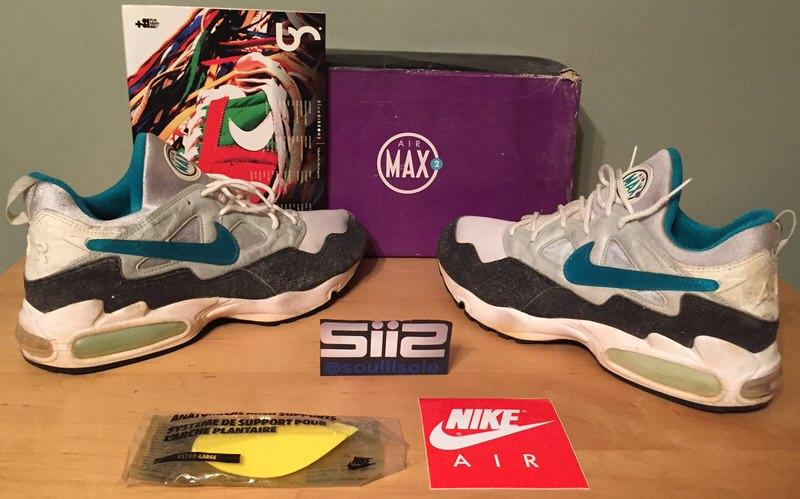 Nike Air Max2 // Throwback Thursday | Nice Kicks