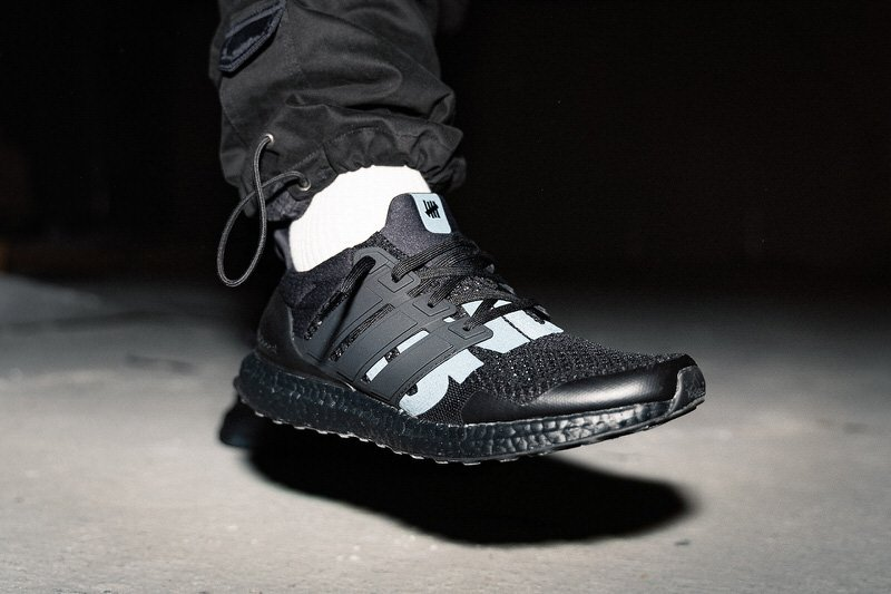 """Undefeated x adidas Ultra Boost 1.0 """"Triple Black"""""""