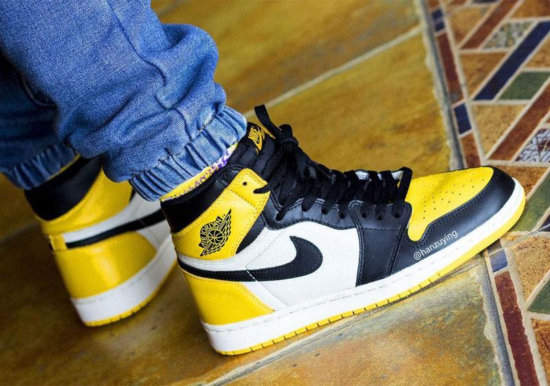jordan 1 high og yellow toe