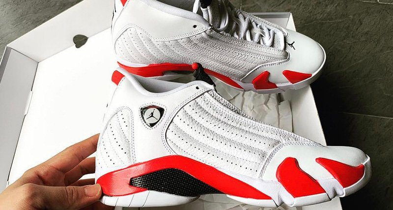 "Air Jordan 14 ""Candy Cane"""