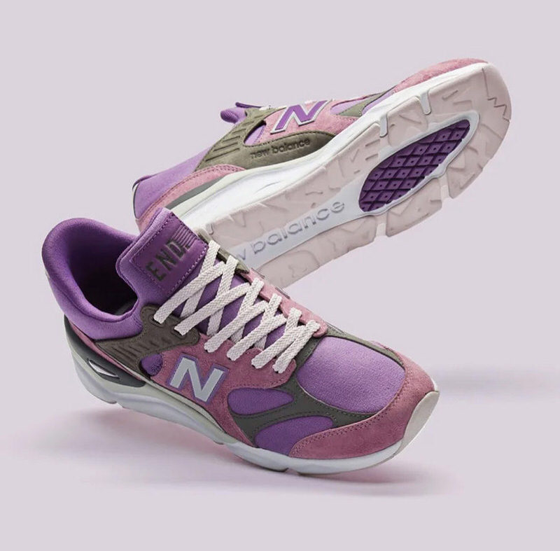 "END. x New Balance X-90 ""Purple Haze"" Pack"