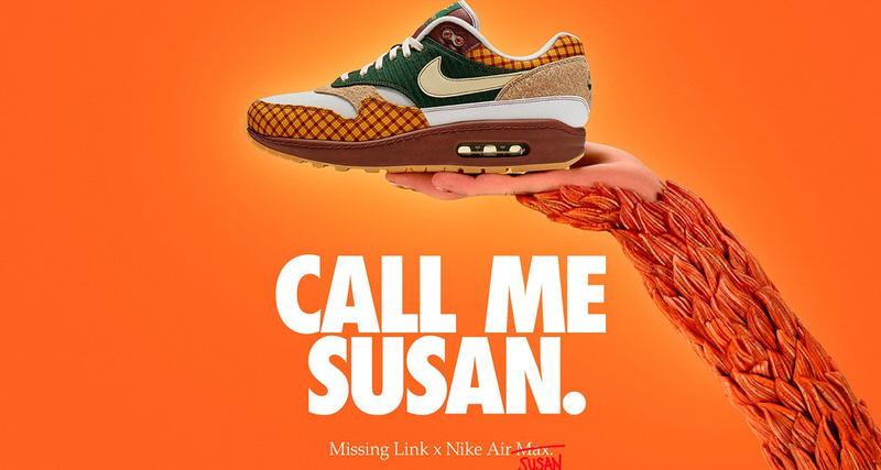 Missing Link x Nike Air Max Susan