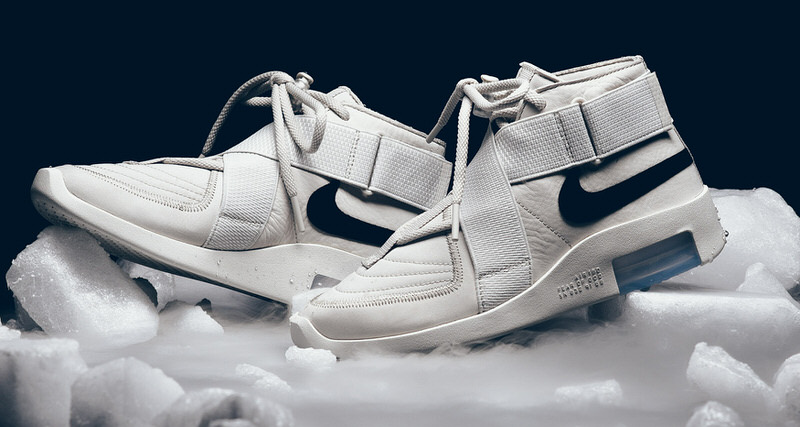 "Nike Air Fear of God Raid ""Light Bone"""