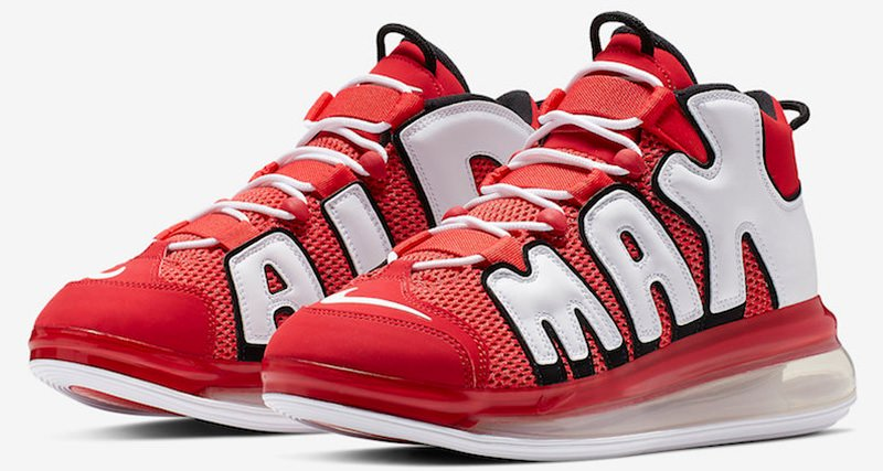 """Nike Air More Uptempo 720 """"University Red"""""""