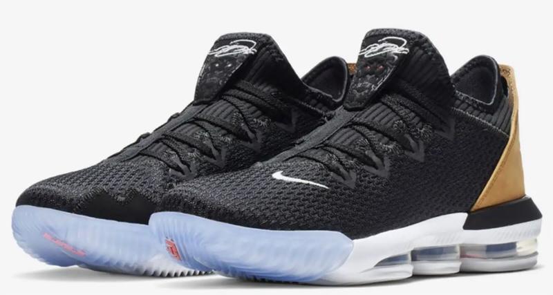 Nike LeBron 16 Low Black/White
