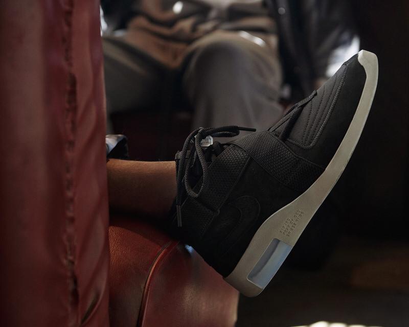 Nike Air Fear of God Raid Black/Silver